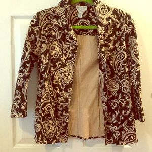 Adorable Talbots blazer